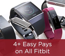 4+ Easy Pays on All Fitbit