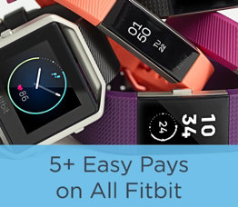 5+ Easy Pays on All Fitbit