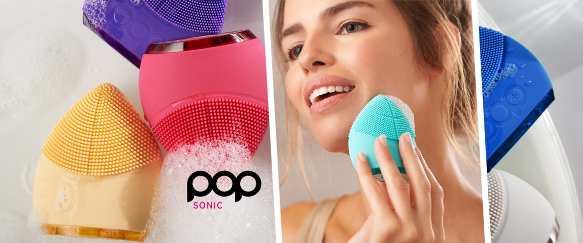 Pop Sonic Leaf Reviews >> Qvc Pop Sonic The Leaflet Sonic Facial Cleansing Device