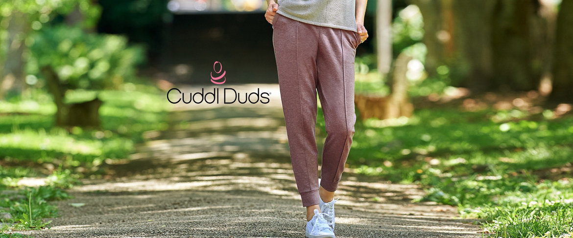 Today's Special Value® — Cuddl Duds Comfortwear Jogger Pants