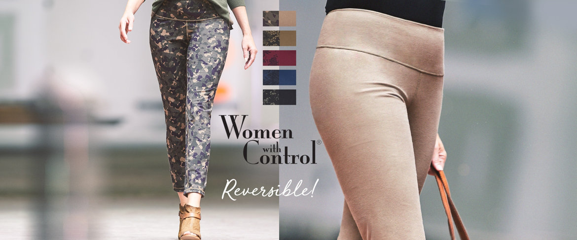 Today's Special Value® — Women with Control Tummy Control Reversible Ankle Pants