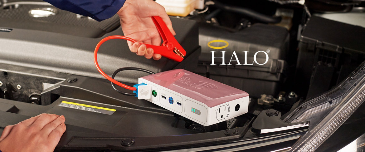Today's Special Value® — HALO Bolt ACDC Wireless Portable Power and Car Jump Starter