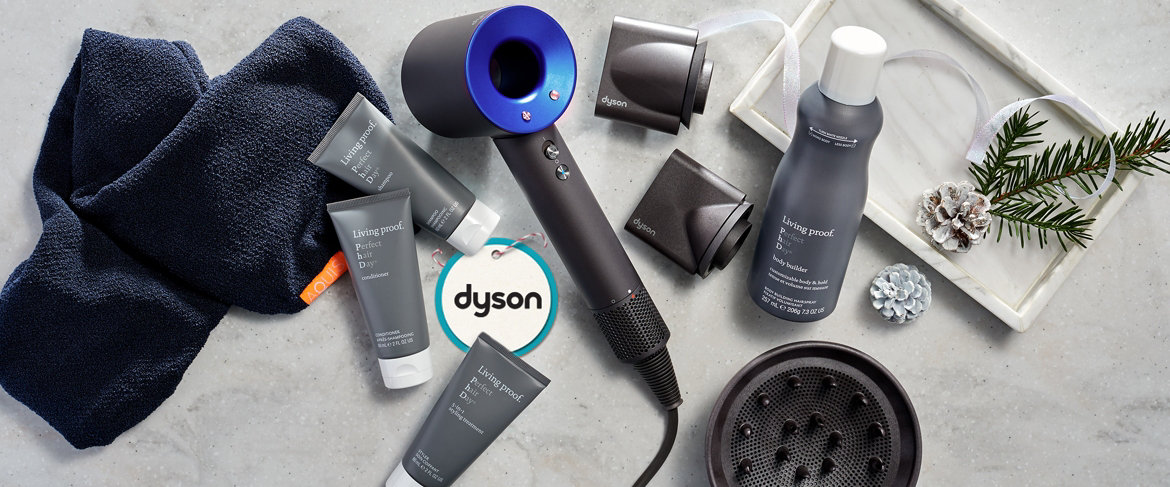 Today's Special Value®  - Dyson Supersonic Hair Dryer with Living Proof & Aquis Accessory