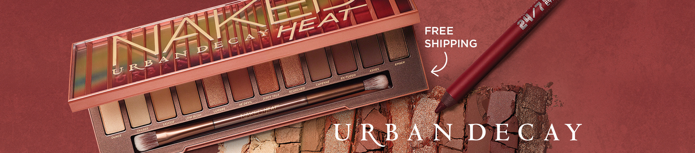 Urban Decay Is Here! Express yourself with bold & beloved beauty picks — Free Shipping
