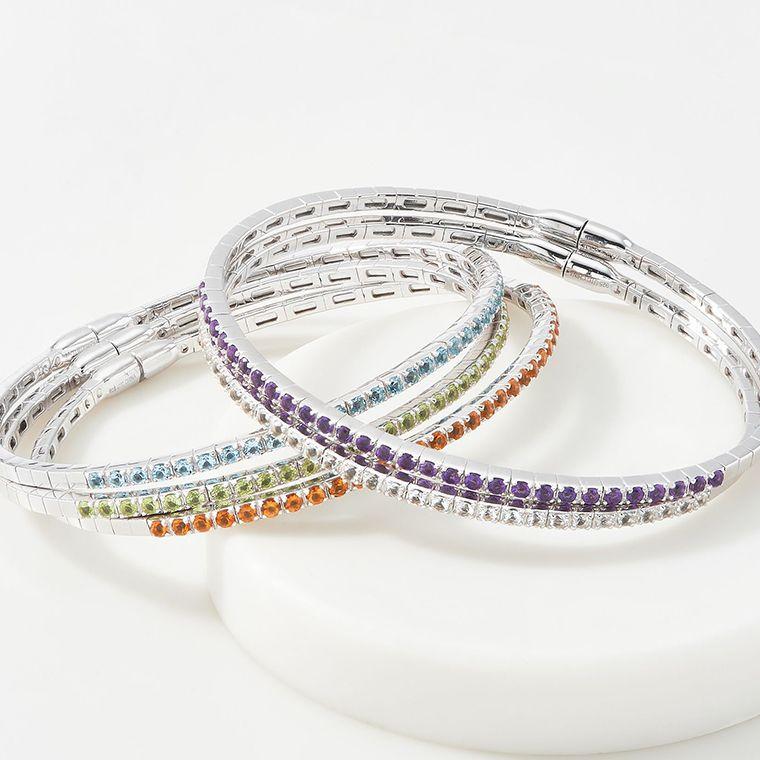 Diaper Stainless Steel C-shaped Open Bracelet Women Men Bangle Jewelry Gift Bangle