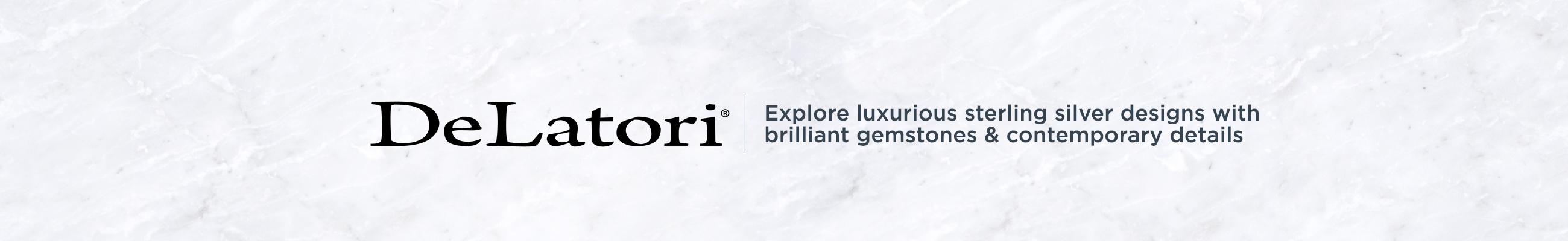 DeLatori — Explore Luxurious sterling silver designs with brilliant gemstones & contemporary details