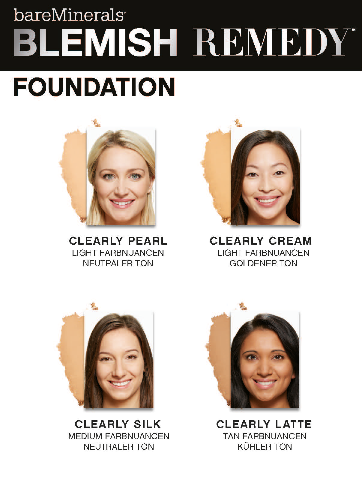 Bareminerals Blemish Foundation Inkl Pinsel 6g Qvcde