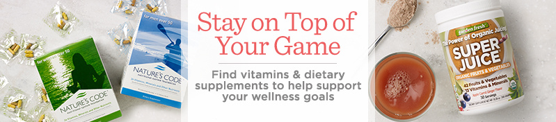 The Taste of Victory — Stay on Top of Your Game. Find vitamins & dietary supplements to help support your wellness goals.