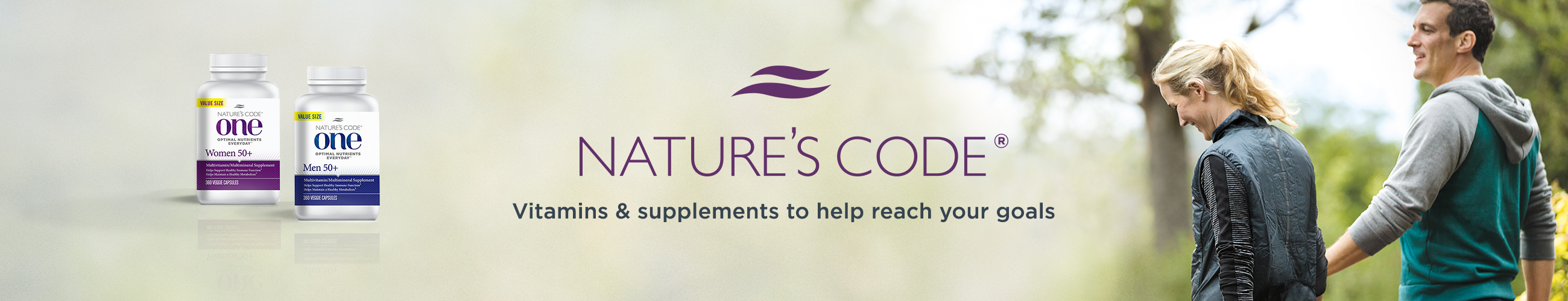 Nature's Code®. Move forward with wellness explorer Naomi Whittel & her range of vitamins & supplements