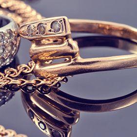 Prachtvolle Goldringe
