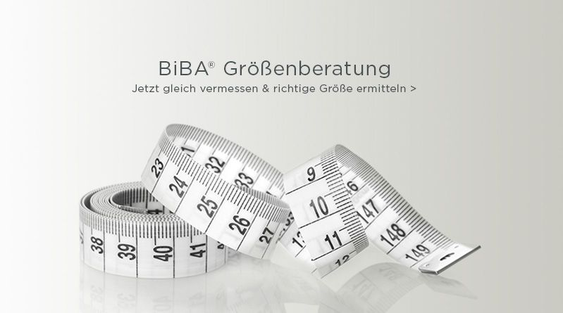 BiBA® Größenberatung