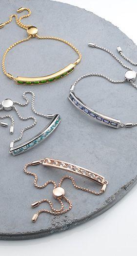 641058Edelstein-Armband