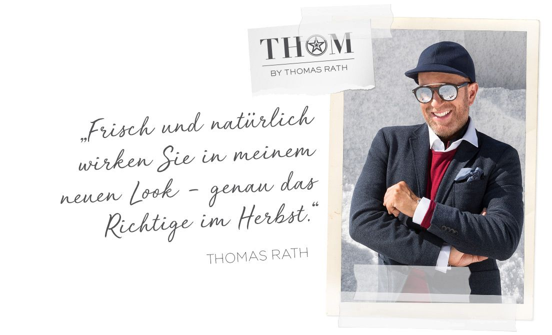 Get the Designer Look THOM by Thomas Rath