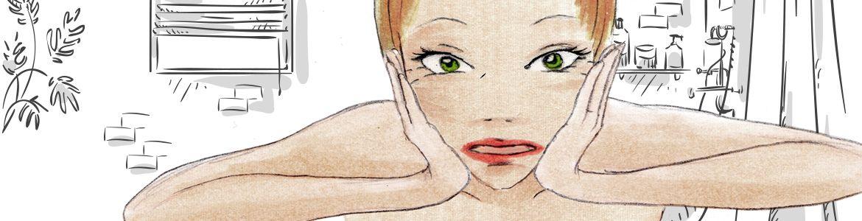 Anti-Aging-Tools Gesichtskonturen