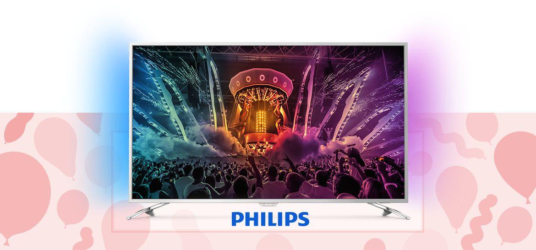466328 PHILIPS 139 cm Smart-TV