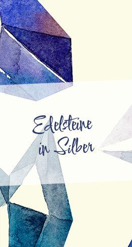 Edelsteine in Silber