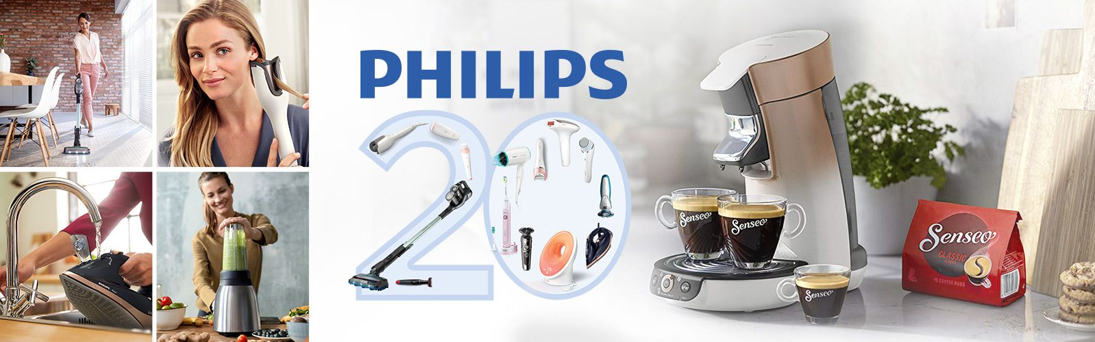 20 Jahre PHILIPS Technik bei QVC