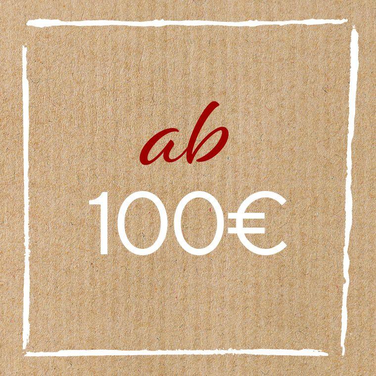 Geschenkideen ab 100 Euro