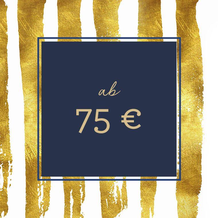 Geschenke ab 75 €