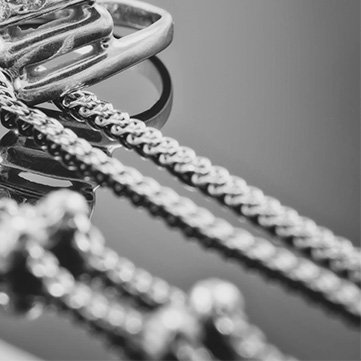 Silberschmuck Ketten & Colliers