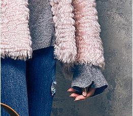 In Cashmere grey jumper