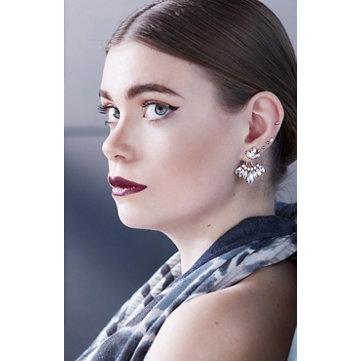 Jacket earrings
