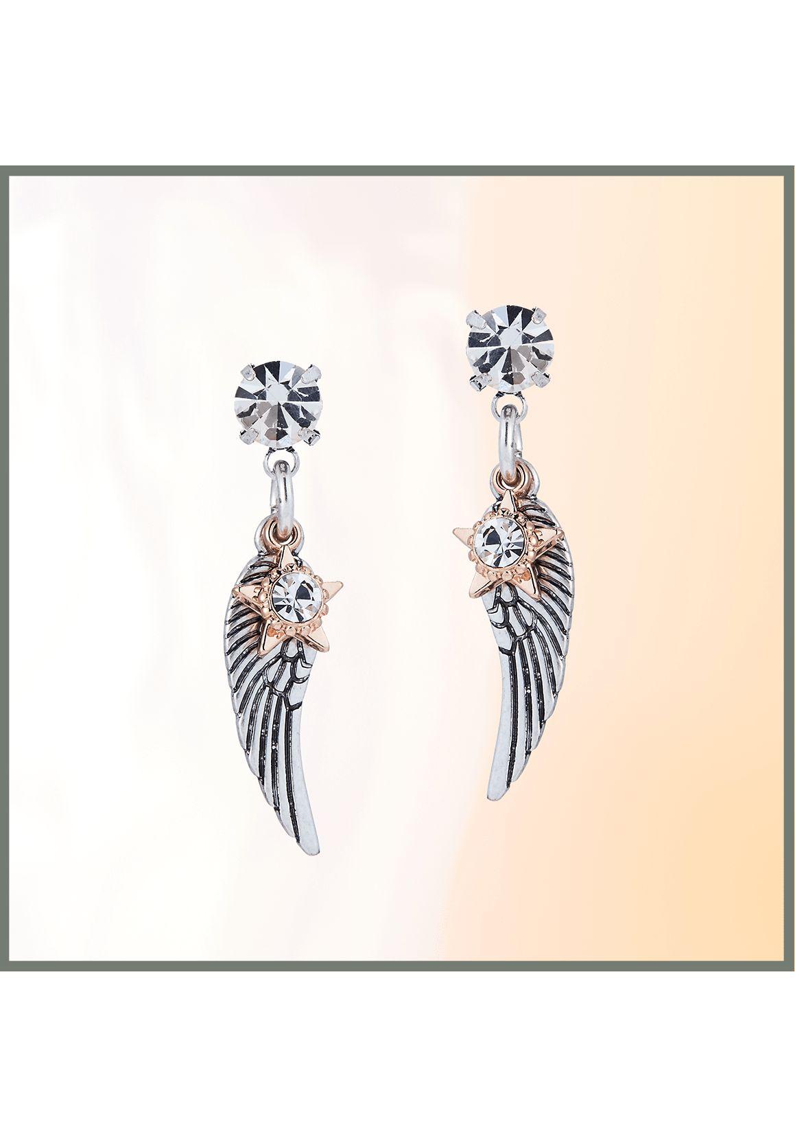 Bibi Bijoux Angel Wing Drop Earrings