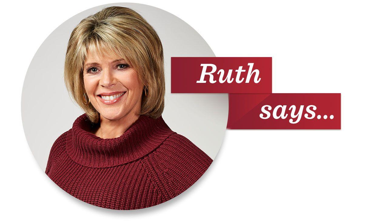 Ruth says...