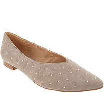 Esprit Studded Pointed Toe Flat - Danika - S9120