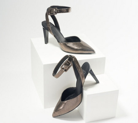 Franco Sarto Pumps with Ankle Straps - Santi