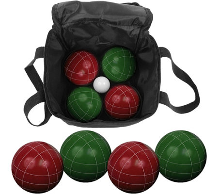 Hey! Play! 9 Piece Bocce Ball Set with Carry Bag