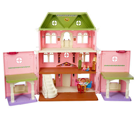 Fisher-Price Loving Family Grand Dollhouse w/ Family & Accessories ...