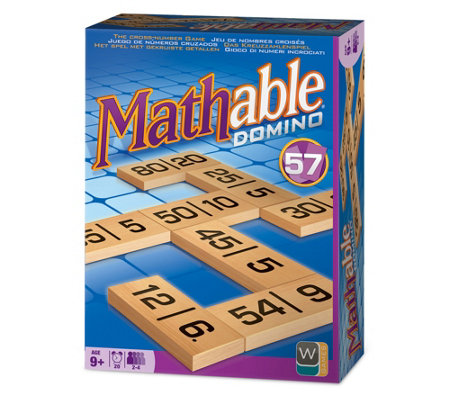 Wooky Entertainment Mathable Domino Family Game