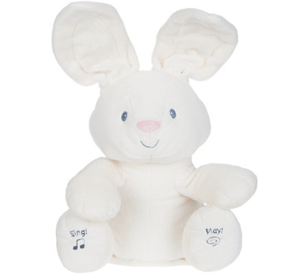 Flora Animated Plush Bunny with Music by Gund