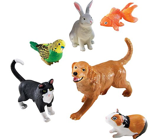 Jumbo Animals Domestic Pets By Learning Resources Qvc Com