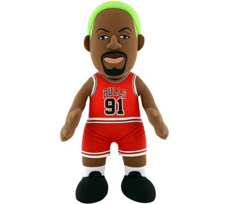 Bleacher Creatues Chicago Bulls Dennis Rodman Plush Figure