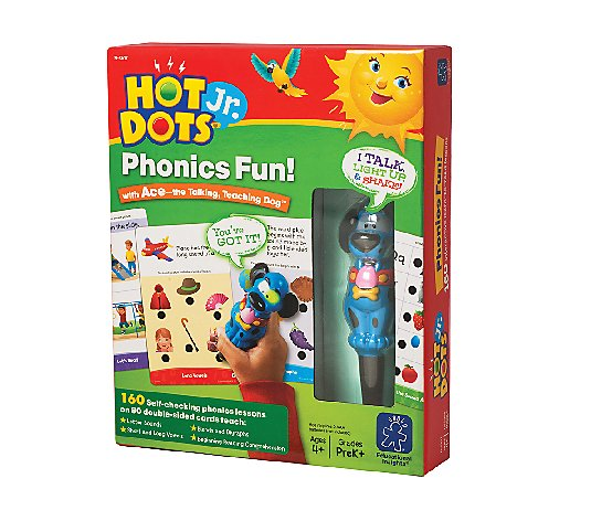 Phonics Fun Electronic Quiz Card Set by Educational Insights