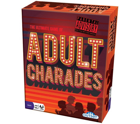 Outset Media Adult Charades Adult Party Game
