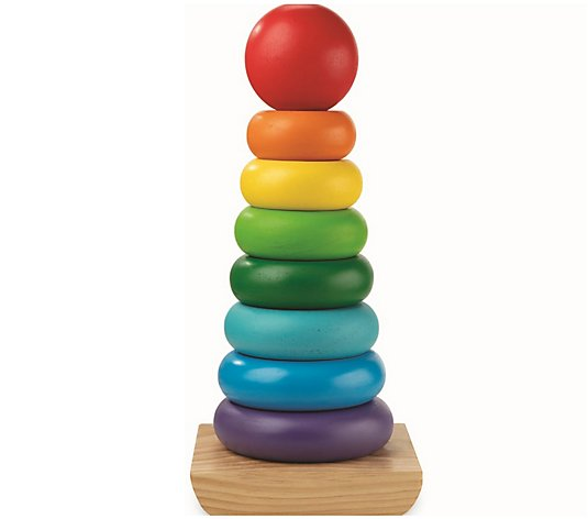 Melissa & Doug Wooden Jumbo Stacker