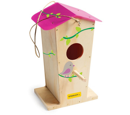 Stanley Jr. Tall Bird House Kit with 5-Piece Tool Set