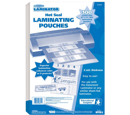 Educational Insights Classroom Laminating Pouches
