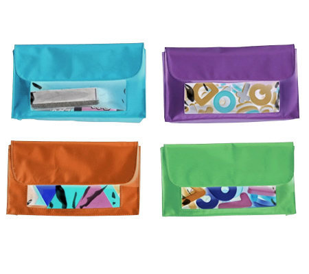 Learning Resources Magnetic Storage Pockets, Set of 4