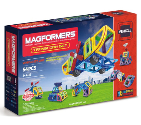 Magformers Transform 54 Piece Set