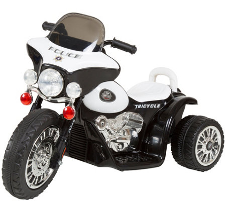 Lil' Rider Mini Three-Wheel Police Chopper