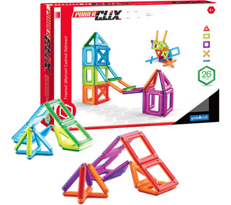 Guidecraft PowerClix Frames - 26 Piece Set