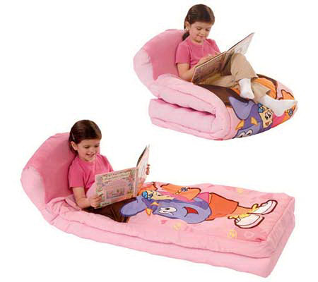 Dora the Explorer: 3 in 1 Ready Bed   Inflatable Slumber Bag
