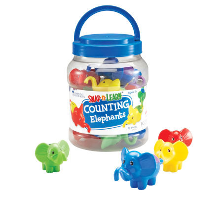 Snap 'N' Learn Counting Elephants by Learning Resources