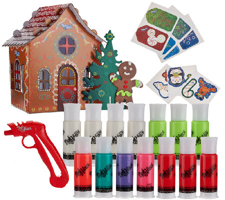 DohVinci Holiday Bundle w/ Gingerbread House & Gift Tags By:Hasbro