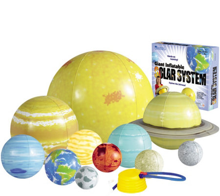 Inflatable Solar System Set by Learning Resources