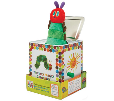 The Very Hungry Caterpillar Jack In The Box